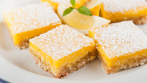 Lemon Sunshine Bars Type 2 Nation