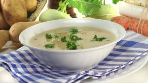 Golden Potato Soup with Cabbage – Type 2 Nation
